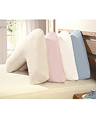 Hollowfibre V Shape Support Pillow