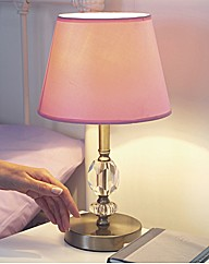 Crystal Effect Touch Lamp