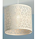 Ornate Cutwork Pendant Shade