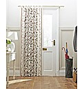 Crewel Work Door Curtain