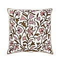 Crewel Work Filled Cushion