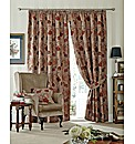 Mackintosh Rose Chenille Curtains