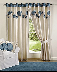 Danielle Poppy Curtains