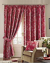 Anais Faux Silk Lined Curtains