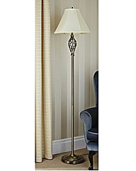 Barley Twist Floor Standing Lamp