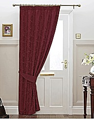 Lana Damask Door Curtain