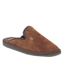 Mule Type Suede Carpet Slipper