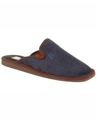 Mule Type Sueded Carpet Slipper