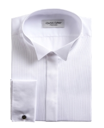 David Latimer Wing Collar Dress Shirt