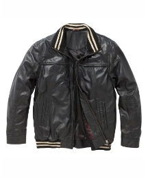 & Brand Mighty Leather Blouson Jacket