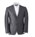 & City Regular Plain Suit Jacket
