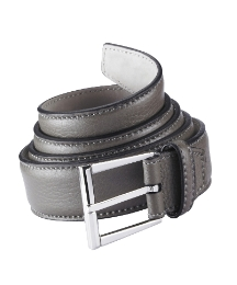 Hand Made Grained Leather Belt