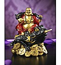 Buddha on Wealth Toad
