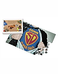 Personalised Super Dad Jigsaw