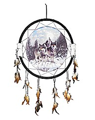 Midnight Watchers Large Dreamcatcher