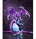 Large Fantasy Dragon with Hatching Egg