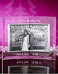 Personalised Glass Frame