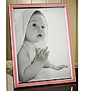 Pink and Silver Photo Frame
