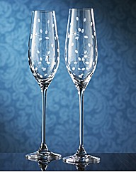 Royal Doulton Celebration Toast Flutes