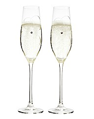 Royal Doulton Many Happy Returns Flutes