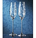 Royal Doulton Twinkle Toasting Flutes