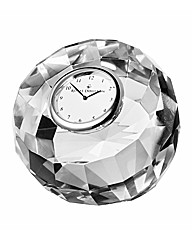 Royal Doulton Radiance Crystal Clock