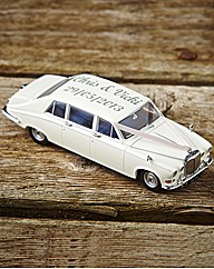 Oxford Die Cast Personalised Wedding Car