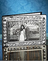 Silver Plated Wedding Guest Message Book