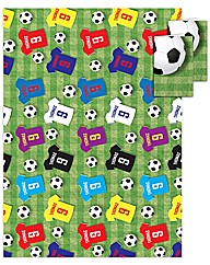 Personalised Football Birthday Wrap