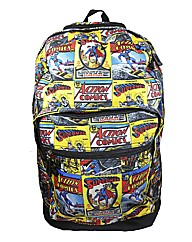 Superman Comic Strip Back Pack