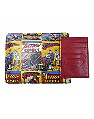 Superman Comic Strip Wallet