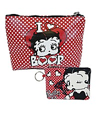 Betty Boop Purse & Make up Bag Set