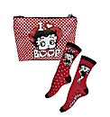 Betty Boop Make-up Bag & Socks Set