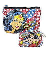 Wonder Woman Retro Purse & Make-up Bag
