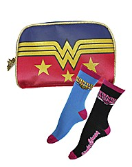 Wonder Woman Cosmetic Bag Set