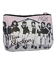 Retro Miss Election Make Up Bag
