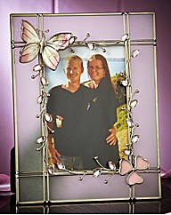 4 X 6 Pink Butterfly Photoframe