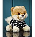 Gund Bitty Boo Dog In Strippy Top