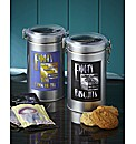 Personalised Hot Chocolate & Biscuit Tin