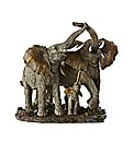 Elephant Family Figurine