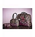 Personalised 4 Piece Pink Travel Set