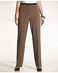 Straight Leg Trousers Length Short