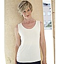 Slinky Jersey Top Sleeveless Vest