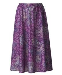 Print skirt L25
