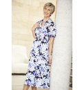 Floral Print Dress Length 45in