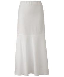 Linen Mix Maxi Skirt Length 35in