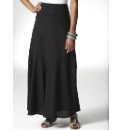 Linen Mix Maxi Skirt Length 35in