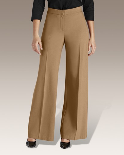 1920s Style Women's Pants, Trousers, Knickers Palazzo Trousers Long £16.00 AT vintagedancer.com