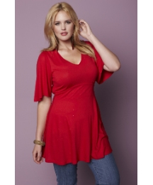 Glamorosa Jersey Tunic Voluptuous Fit
