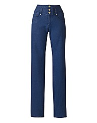 High Waisted Slim Leg Jeans